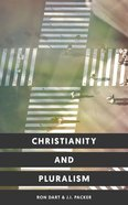 Christianity and Pluralism Paperback