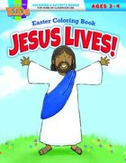 Jesus Lives! Easter Coloring Book (Warner Press Colouring/activity Under 5's Series) Paperback