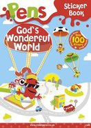 Pens Sticker Book: God's Wonderful World Stickers