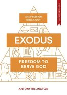 Exodus: Law (7 Sessions) (Whole Life Series) Paperback
