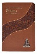 New Catholic Version Psalms Brown Imitation Leather