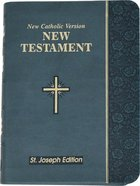 New Catholic Version St. Joseph New Testament Vest Pocket Slate Imitation Leather