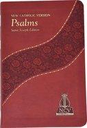 New Catholic Version Psalms Burgundy Imitation Leather