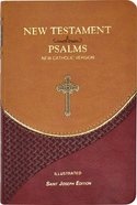 New Catholic Version New Testament and Psalms Vest Pocket Brown Imitation Leather