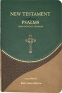 New Catholic Version New Testament and Psalms Vest Pocket Green Imitation Leather