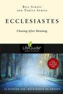 Ecclesiastes (Lifeguide Bible Study Series) Paperback