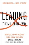 Leading - the Millennial Way Paperback