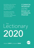 Common Worship Lectionary 2020 Paperback