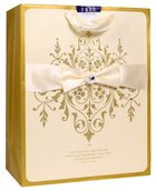 Gift Bag Large: Wedding Two Shall Become One, Gold/Cream (Incl Two Sheets Tissue Paper & Gift Tag) Stationery