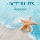 2020 Wall Calendar: Footprints Calendar