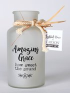 Lighted Vase: Amazing Grace Homeware
