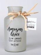 Lighted Vase: Amazing Grace Homeware