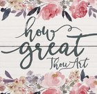 Magnet: How Great Thou Art, Floral Novelty