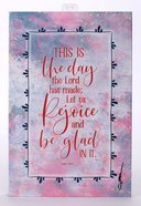 Whispers of the Heart Plaque: This is the Day the Lord Hath Made... Pink Plaque