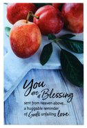 New Horizons Bright Plaque: You Are a Blessing Sent From Heaven Above... Fruit Peaches Plaque