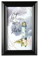 Heaven Sent Plaque: Let God's Light Shine, Lighthouse Plaque