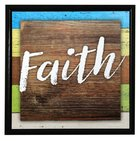 Simple Expressions Plaque: Faith Plaque