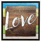 Simple Expressions Plaque: Love Plaque