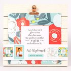 Joyce Meyer Quote Clipboard: Includes 7 Sheets of Joyce's Quotes, Orange/Red/White/Blue Homeware