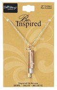 Inspired Necklace: Believe, Trust, Hope, 71Cm in Length Jewellery
