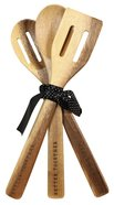 Wood Spoon Set of 3: Better Together (Better Together Collection) Homeware