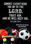 Poster Large: Commit Everything You Do to the Lord, Psalm 37:5 Poster