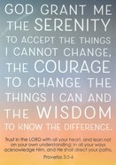 Poster Large: Serenity Prayer Poster