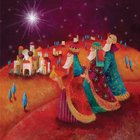 Christmas Boxed Cards Three Wisemen / Bethlehem Town Box