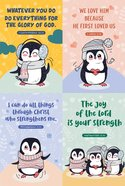 Notepad Set of 4: Penguin Series Stationery