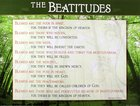 Wall Chart: The Beatitudes (Laminated) Chart/card