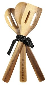 Bamboo Spoon Set: Better Together