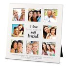 Mdf Ceramic Frame Collage: I Love That You're My Friend (1 Thess 5:11) Homeware