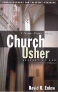 Church Usher: Servant of God Paperback