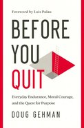 Before You Quit eBook