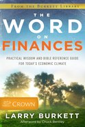The Word on Finances Paperback