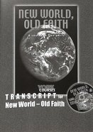 New World, Old Faith (Transcript) (York Courses Series) Booklet