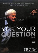 Yes, Your Question: A Collection of the Best Questions From Top Universities (6 DVD Set, 5 Hrs) DVD