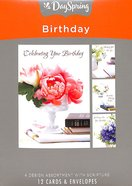 Boxed Cards Birthday: Lustrous Box