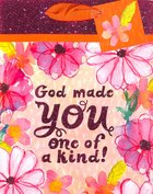 Gift Bag Medium: God Made You (Incl Tissue Paper And Gift Tag) Stationery