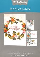 Boxed Cards Anniversary: Flower Box