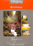 Boxed Cards Birthday: Tony Evans Box