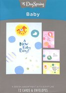 Boxed Cards Baby: Circles Box