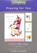 Boxed Cards Praying For You: Marjolein Bastin Box