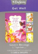 Boxed Cards Get Well: Marjolein Bastin Box