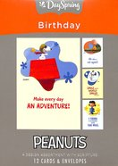 Boxed Cards Birthday: Peanuts Adventure, NLT Scripture Text