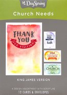 Boxed Cards: Church Needs For Everyone, KJV Scripture Text Box