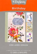 Boxed Cards Birthday: Farmhouse, KJV Scripture Text