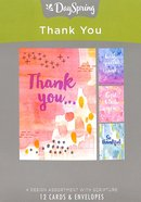 Boxed Cards Thank You: Modern Maker, NLT Scripture Text Box