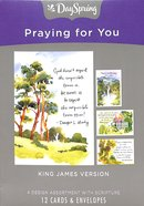 Boxed Cards Praying For You: Classic Quotes, KJV Scripture Text