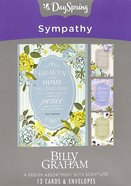 Boxed Cards Sympathy: Billy Graham, KJV Scripture Text